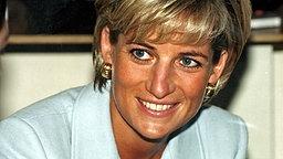 1997: Prinzessin Diana bei einem Besuch im Royal Brompton Krankenhaus in London © Picture-Alliance / dpa