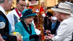 Queen Elizabeth beim Maundy Service 2017 in der Kathedrale von Leicester. © Picture-Alliance / Empics Fotograf: Anthony Devlin