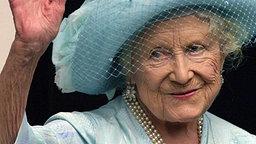 Queen Mum 2001 © dpa-Fotoreport