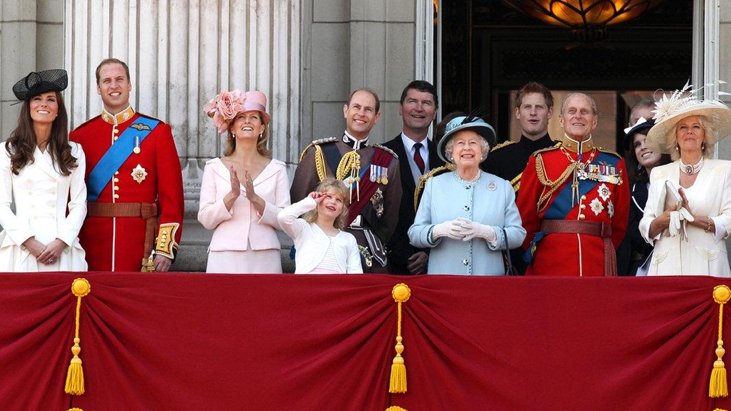 Die Queen Und Ihre Familie