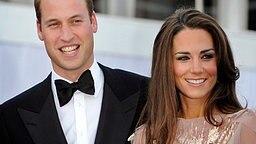 Prinz William und Catherine Anfang Juni 2011. © dpa Bildfunk Foto: Facundo Arrizabalaga