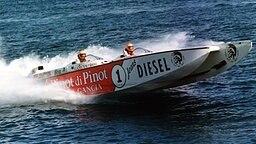 Prinzessin Carolines Ehemann Stefano Casiraghi verunglückt am 2. Oktober 1990 tödlich mit seinem Rennboot. © dpa - picture alliance