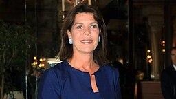 Prinzessin Caroline bei der Abschlussfeier der Monaco International School, deren Präsidentin sie ist. © dpa - picture alliance