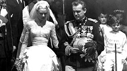 Am 19. April 1956 heiratet Fürst Rainier III. die Filmschauspielerin Grace Kelly © Picture-Alliance / dpa / UPI