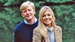 Der niederländische Kronprinz Willem-Alexander und seine Frau Máxima im Jahr 2001 © www.koninklijkhuis.nl / RVD