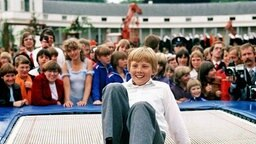 Prinz Willem Alexander 1980 © dpa - Sportreport