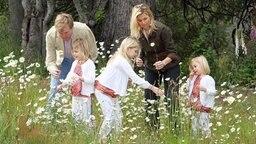Willem Alexander mit seiner Familie in Argentinien © dpa