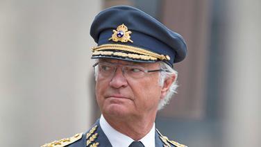 König Carl XVI. Gustaf von Schweden - eine Aufnahme aus dem Jahr 2014. © picture alliance / dpa Foto: picture alliance / IBL Schweden