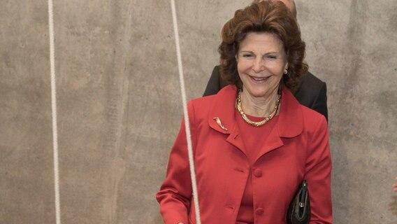 Königin Silvia von Schweden lässt sich auf der Mainau nur kurz blicken