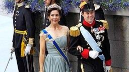 Mary und Frederik, Kronprinzenpaar aus Dänemark © dpa Bildfunk Fotograf: Leif R. Jansson