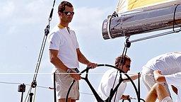 September 2003: Felipe nimmt an der Prinz-von-Asturien-Regatta in der Bucht von Las Palmas teil © Picture-Alliance / dpa