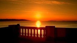 Sonnenuntergang an der Côte d'Azur © NDR