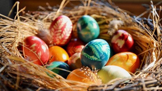 Ostereier Natürlich Färben Und Muster Gestalten Ndrde Ratgeber