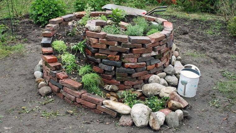 Eine Kräuterspirale Für Den Garten Anlegen