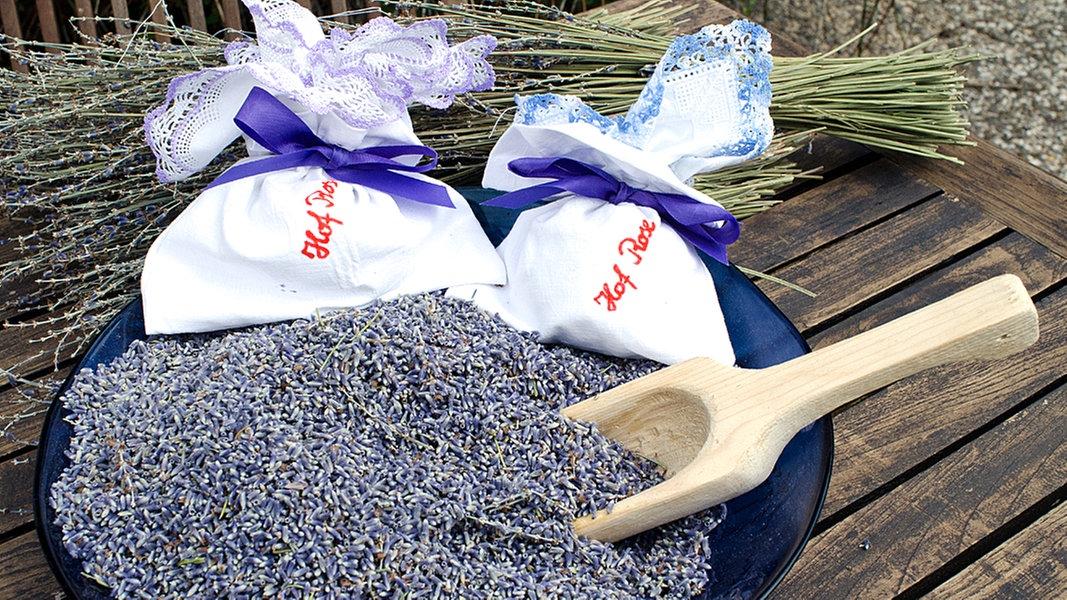 Ein Lavendelsäckchen Nähen