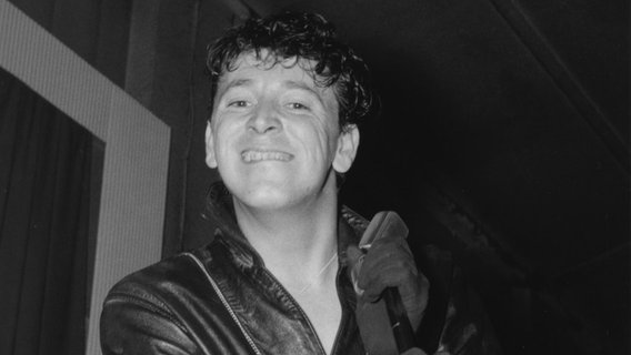 Gene Vincent, Rex Ballroom, Cambridge, 1961. (National Jazz Archive/Heritage Images) © NDR/Uwe Ernst Foto: Uwe Ernst