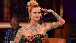 Jennifer Weist, Sängerin der Rockband Jennifer Rostock © NDR/Uwe Ernst Foto: Uwe Ernst