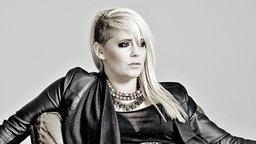 """Jini Meyer, Sängerin der Band """"Luxuslärm"""" © Ben Wolf Foto: Ben Wolf"""