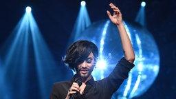 """Conchita singt ihren neuen Titel """"You are unstoppable"""". © NDR/Uwe Ernst Foto: Uwe Ernst"""