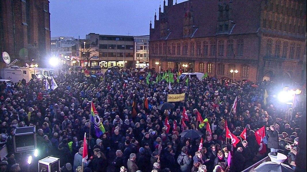 Nach Hanau: 3.000 Menschen gedenken in Hannover
