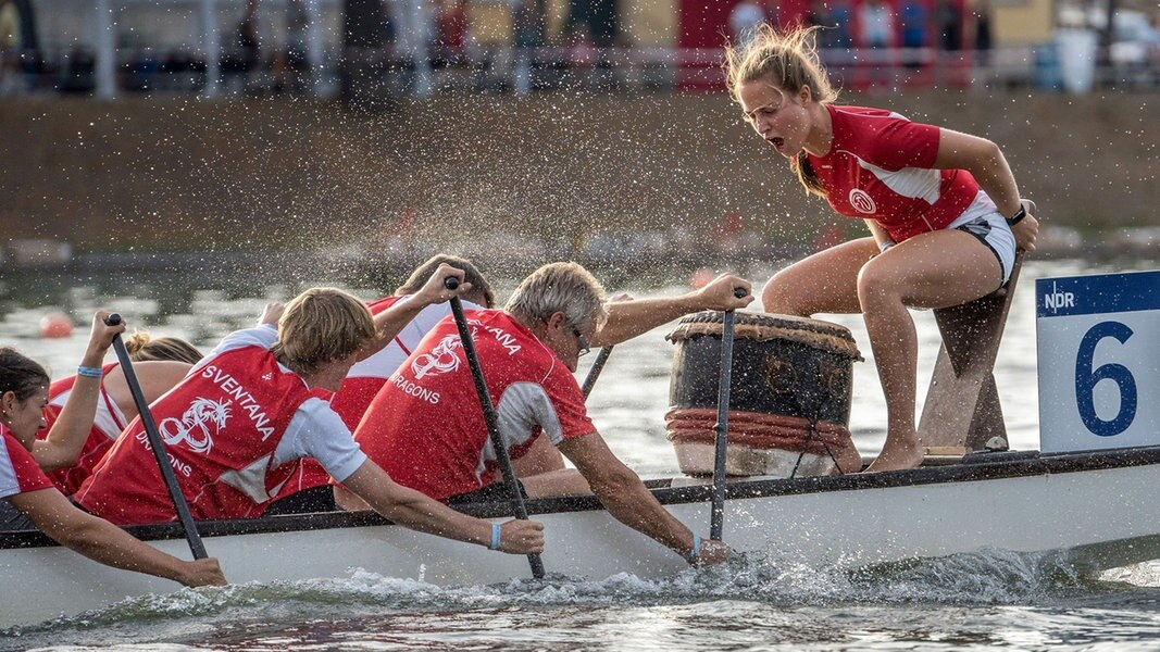 Drachenbootrennen Schwerin