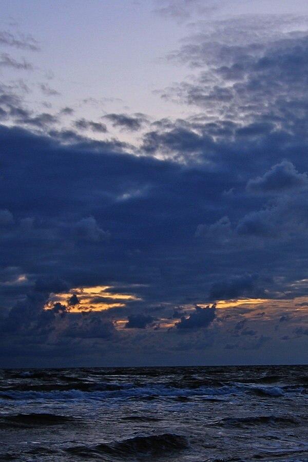 Herbstwetter: Sonne im Süden - Wolken im Norden