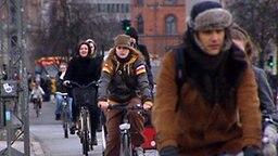 Etwa 52 Prozent der Kopenhagener radelt zur Schule oder Arbeit. © NDR