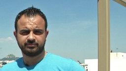 Rami, syrischer Flüchtling.