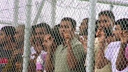 Flüchtlingslager in Griechenland. © NDR