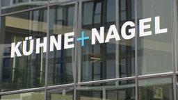 Außenfassade des Logistikunternehmens Kühne + Nagel © NDR Foto: Screenshot