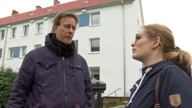 Peter Vent mit Mareike Burgschat © NDR Fotograf: Screenshot