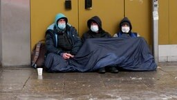 Obdachlose Menschen in Hamburg © NDR Foto: Screenshot