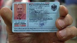 "Personenausweis der ""Reichsbürger"""