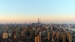 Die Skyline von Shanghai © NDR Foto: Screenshot