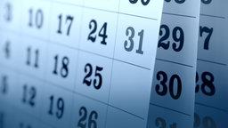 Kalender © Fotolia.com Fotograf: Barmaliejus