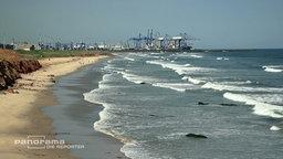 Der Hochseehafen von Tema, 25 Kilometer von Ghanas Hauptstadt Accra entfernt. © NDR/ARD