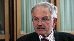 Prof. Dr. Peter Schüren, Arbeitsrechtler an der Universität Münster. © NDR