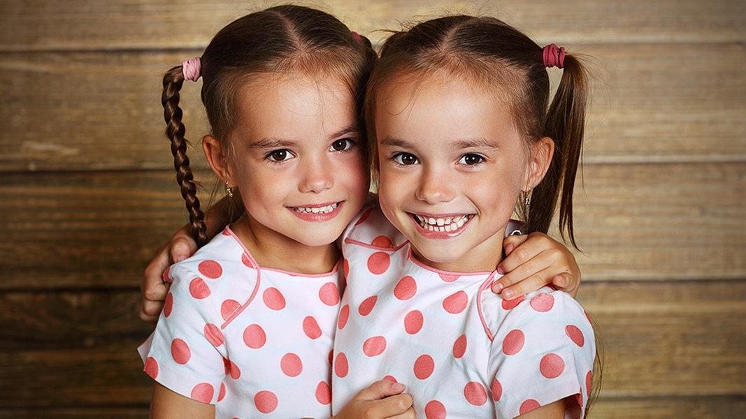 Zwillinge Mädchen