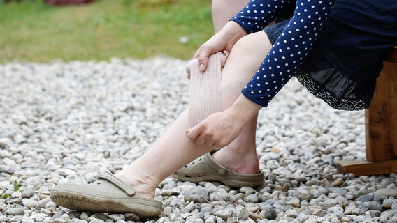 Wie man dicke Füße schlank macht