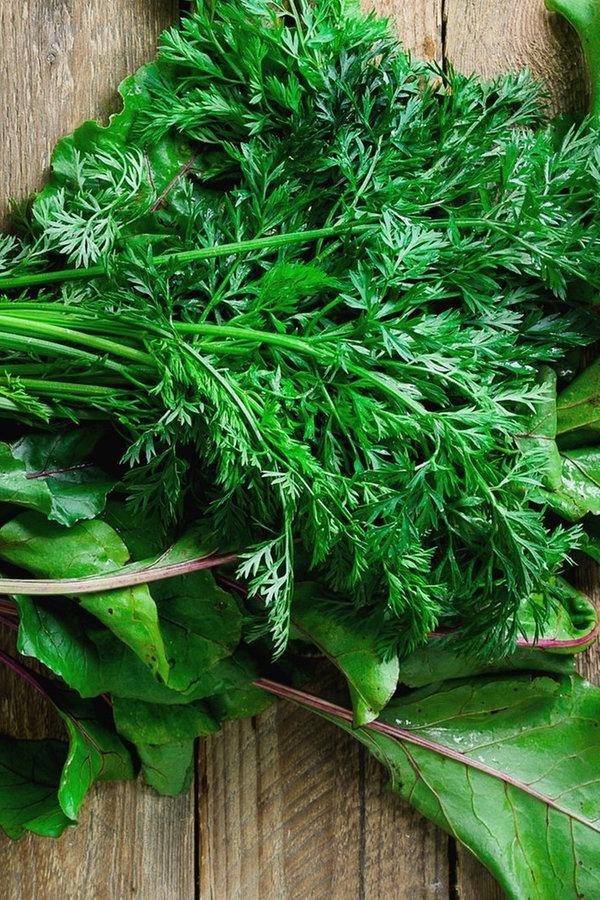 Gemüse: Welche Blätter sind essbar?