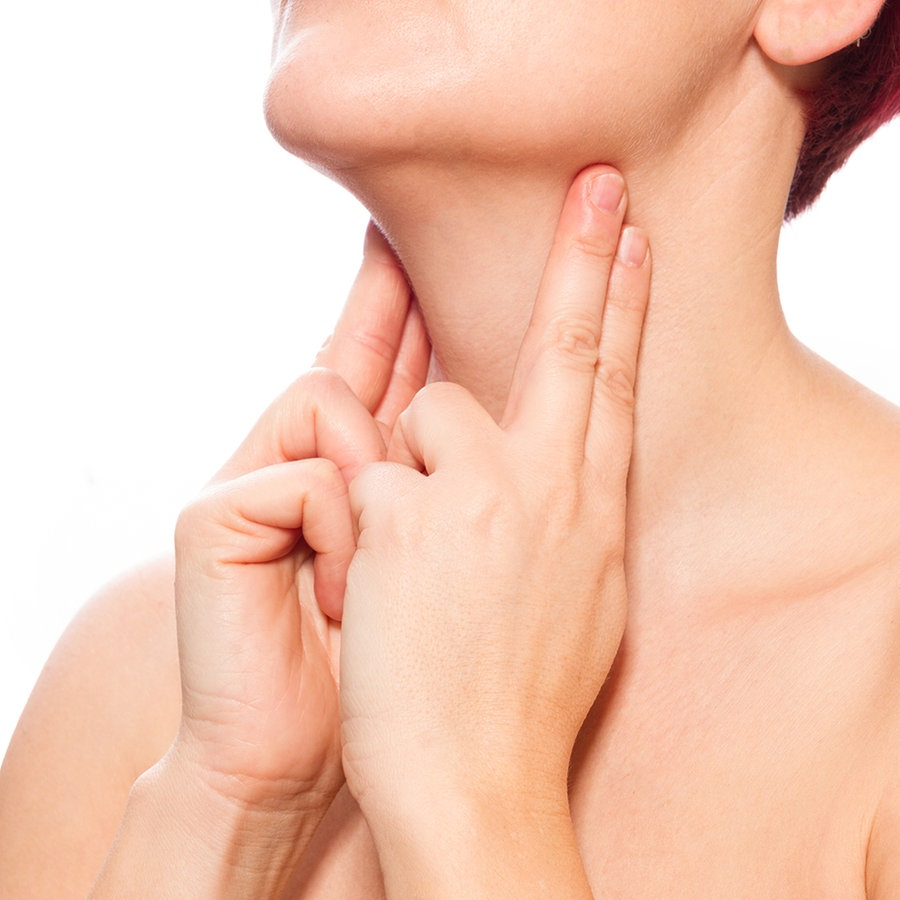 Am hals wo sind lymphknoten Geschwollene Lymphknoten:
