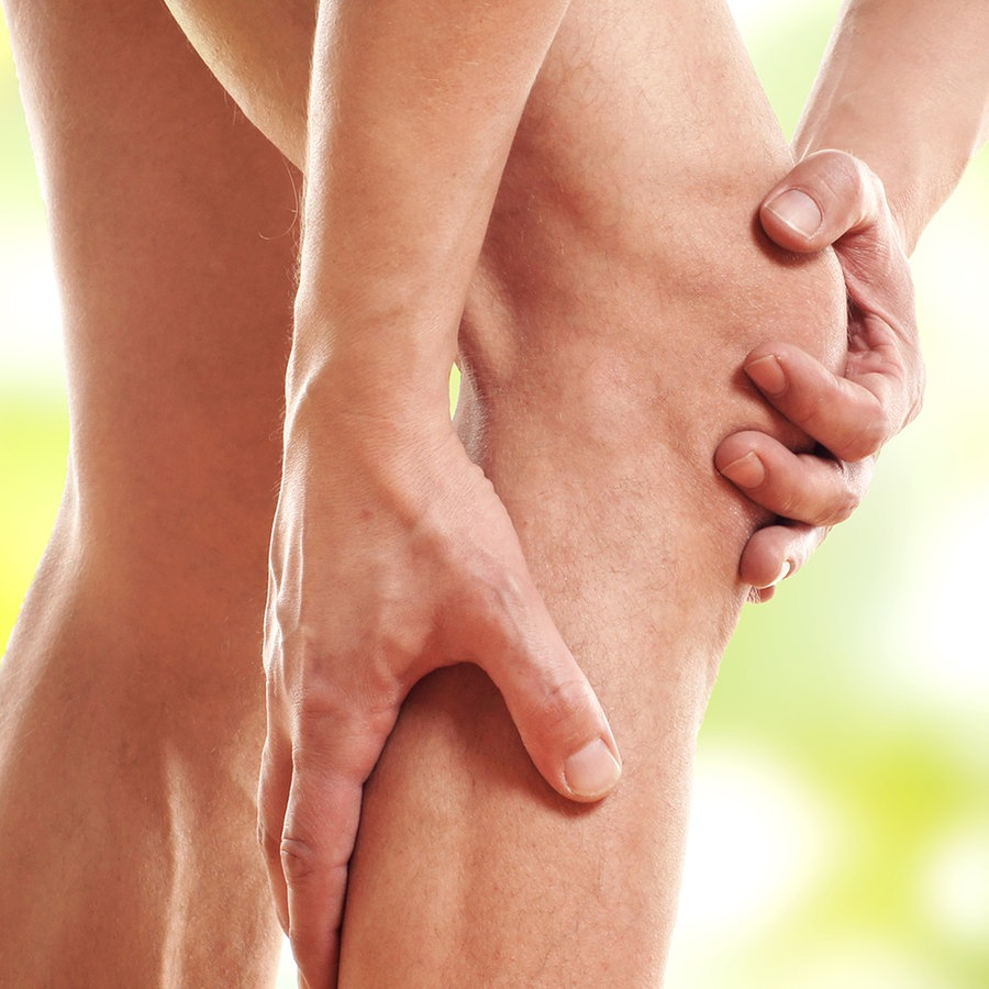 Ziehen knie fäden Fettabsaugung