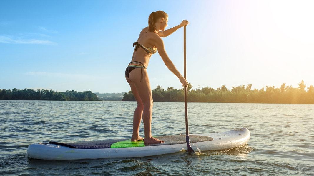 Stand-up-Paddler bringen sich häufig in Gefahr