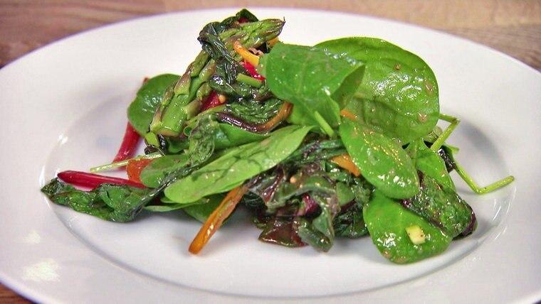 Rezept Mangold Spinat Salat Ndrde Ratgeber Kochen