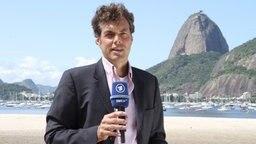 Michael Stocks, ARD Korrespondent in Rio de Janeiro © SWR