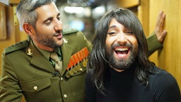 Michel Abdollahi (l.) und Conchita Wurst. © NDR