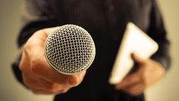 Mikrofon © fotolia.com Foto: Brian Jackson