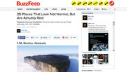 "Screenshot eines ""Native Advertising"" Articels auf der Website Buzzfeed © Buzzfeed Foto: Screenshot buzzfeed.com"