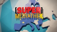 "Logo ""SUPER-MEDIATHEK"" © NDR"