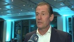 Mathias Döpfner, Verlagschef von Axel Springer im Interview mit ZAPP. © NDR